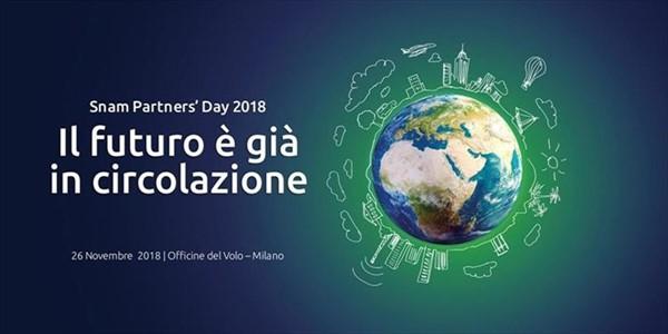 Simona Grossi - Milano ha recentemente ospitato lo Snam Partners' Day 2018